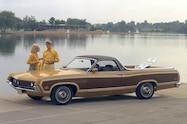 1970 Ford Ranchero Squire front view