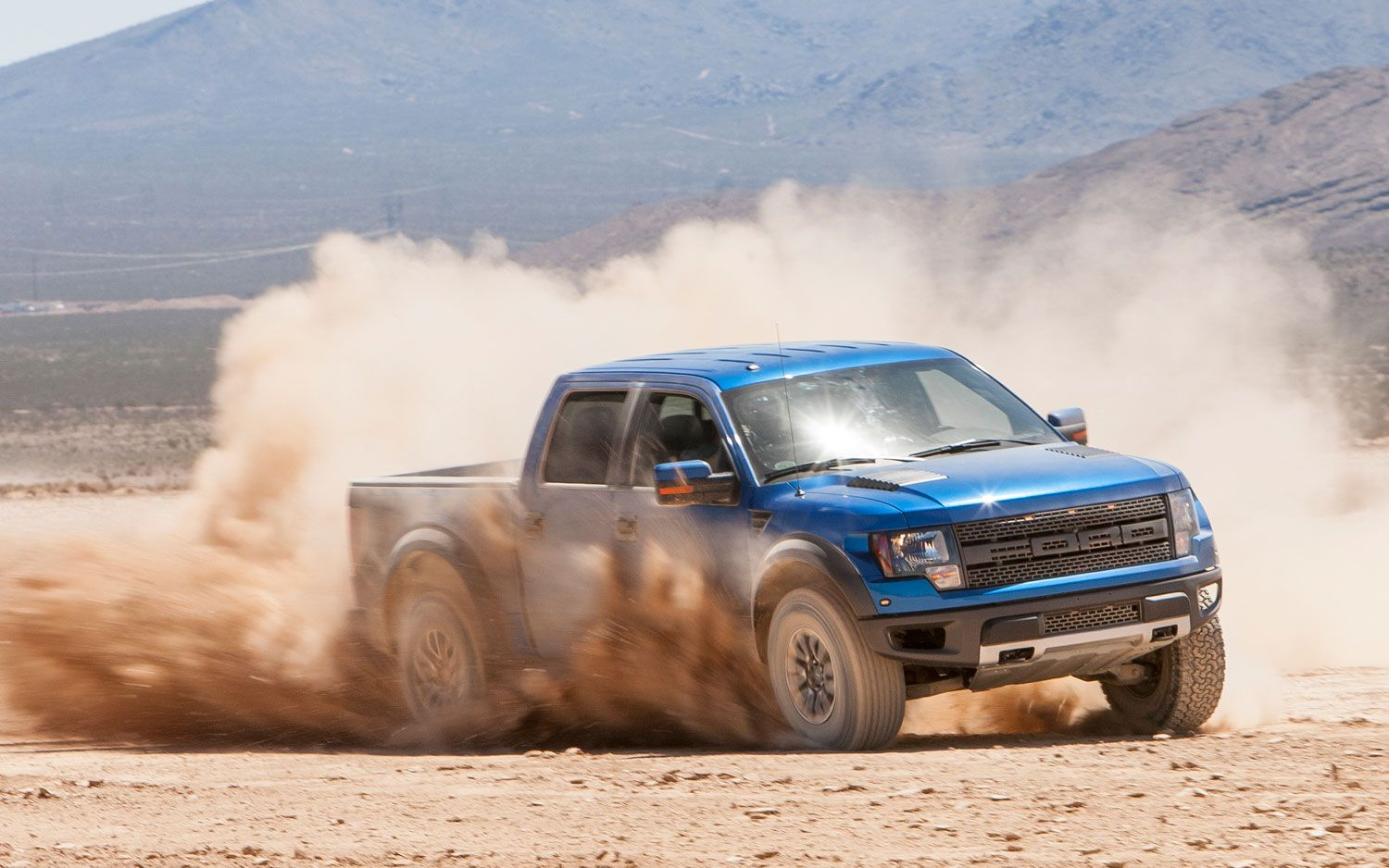 2012 Ford F 150 SVT Raptor SuperCrew front