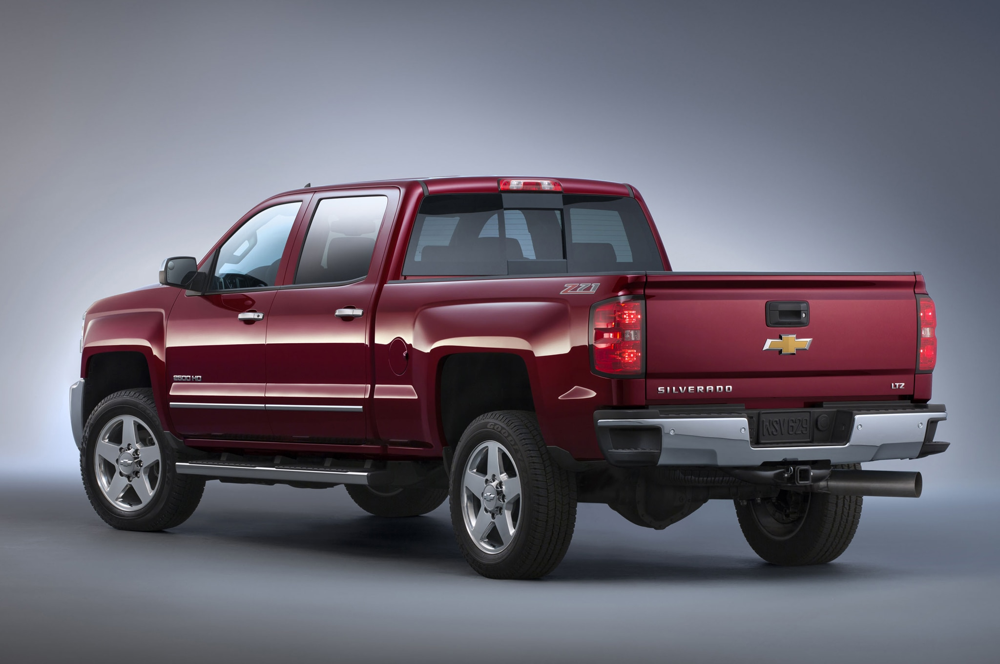 2015 Chevrolet Silverado 2500HD LTZ Z71 rear view