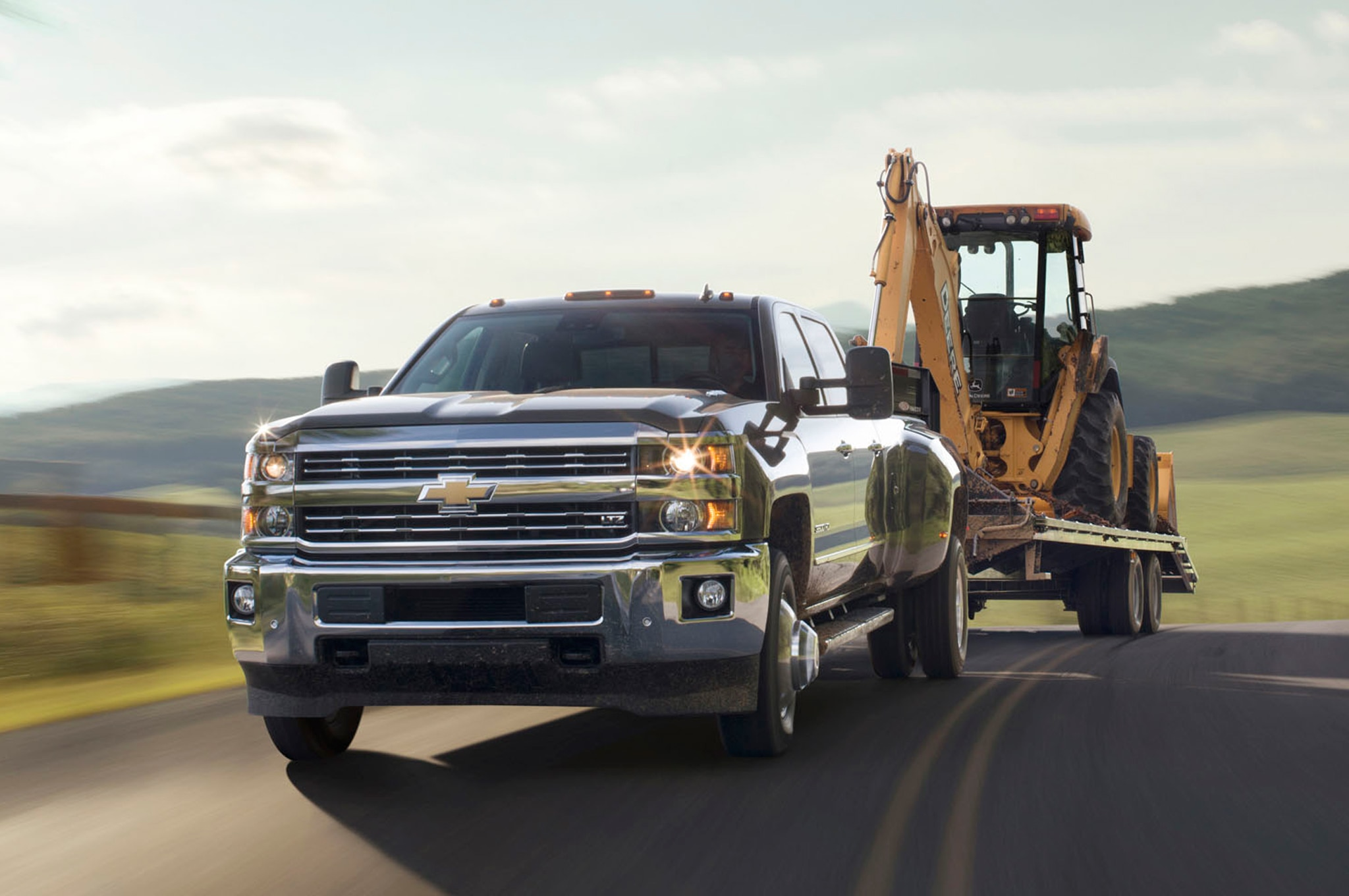 2015 Chevrolet Silverado 3500HD towing