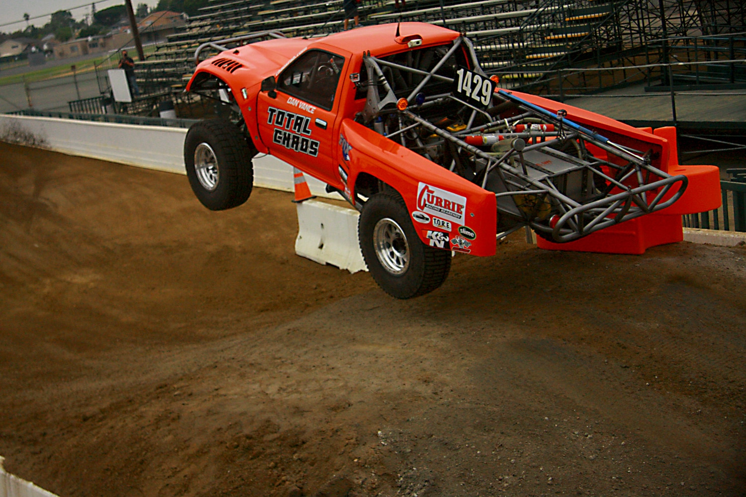Off Road Race Truck   10  Dan Vance Total Chaos Toyota pickup