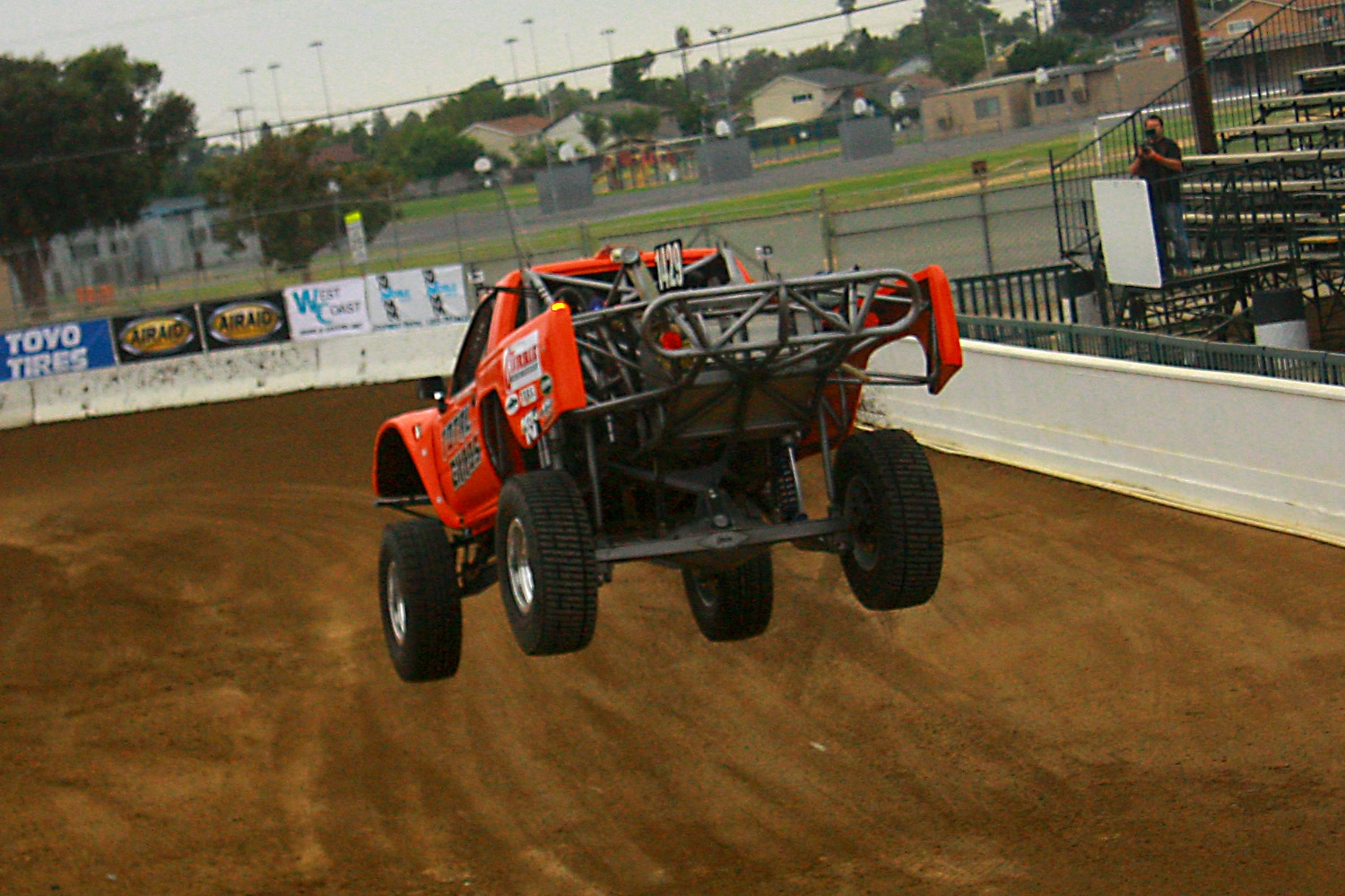 Off Road Race Truck   11  Dan Vance Total Chaos Toyota pickup full droop
