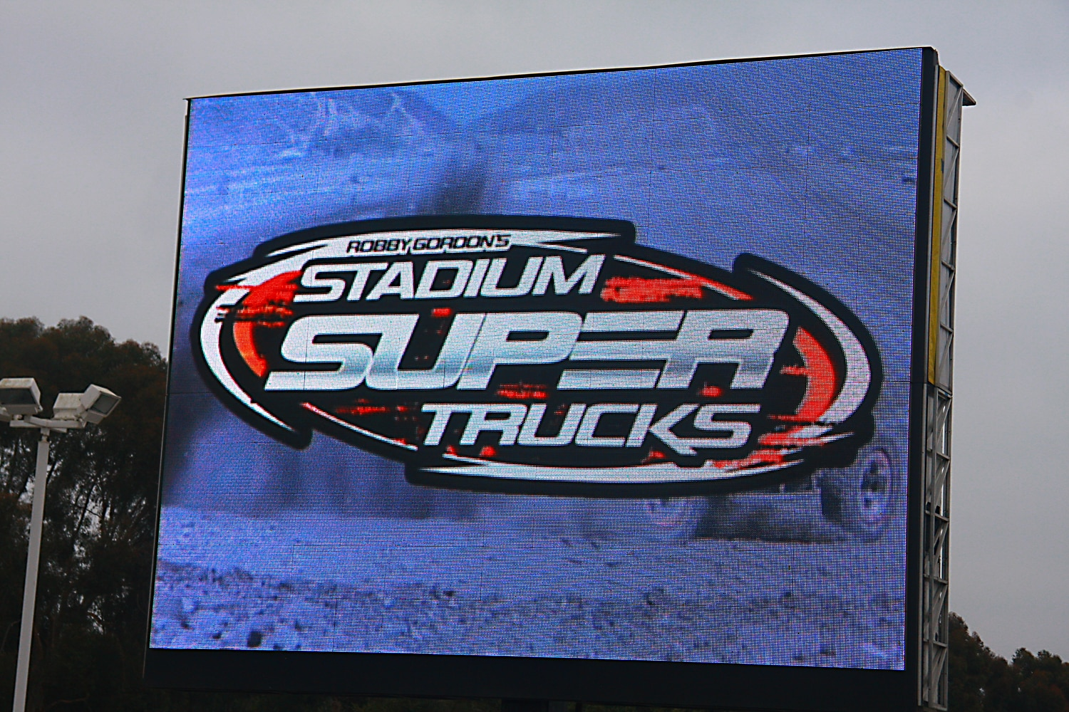 Off Road Race Truck   27  Stadium Super Trucks Jumbotron