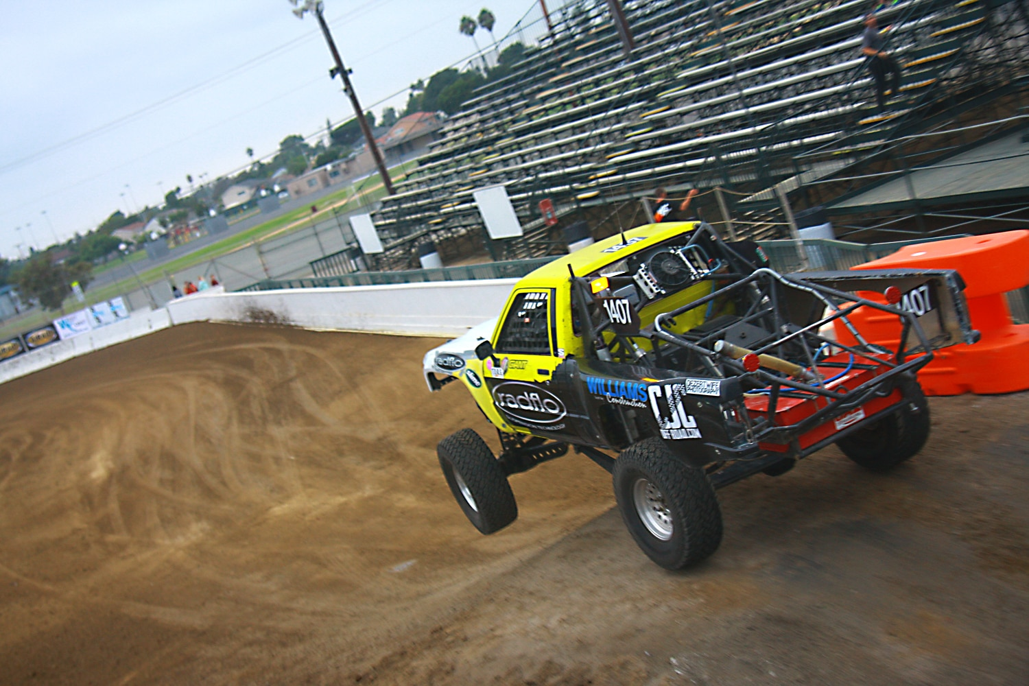 Off Road Race Truck   31  Toyota Prerunner Pickup Jump