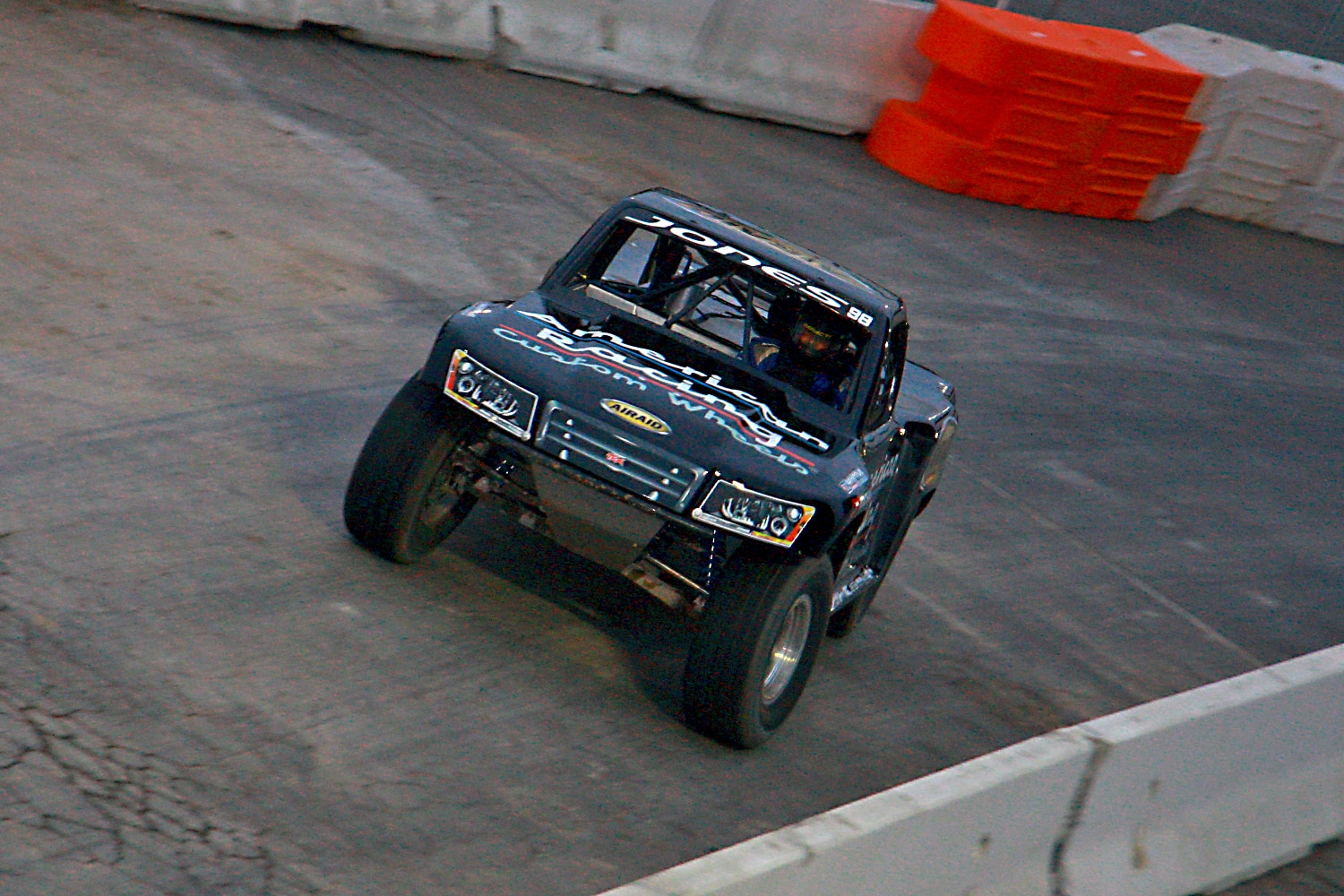 Off Road Race Truck   49  SST overhead shot