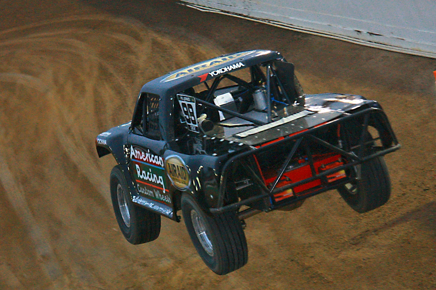 Off Road Race Truck   50  SST stadium jump