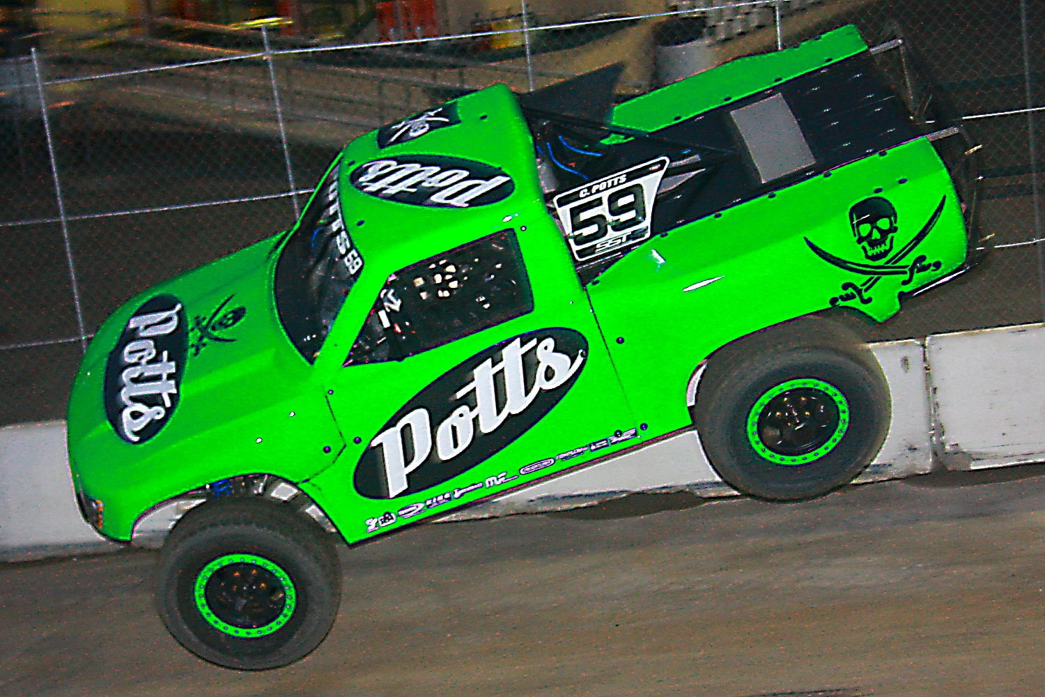 Off Road Race Truck   54  Potts SST Truck Landing