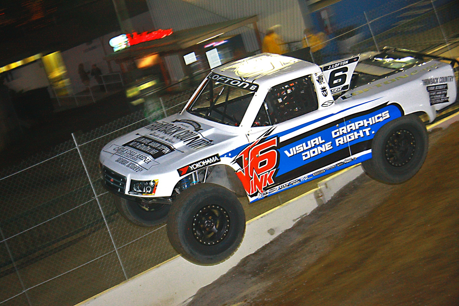 Off Road Race Truck   55  Justin Lofton SST Truck