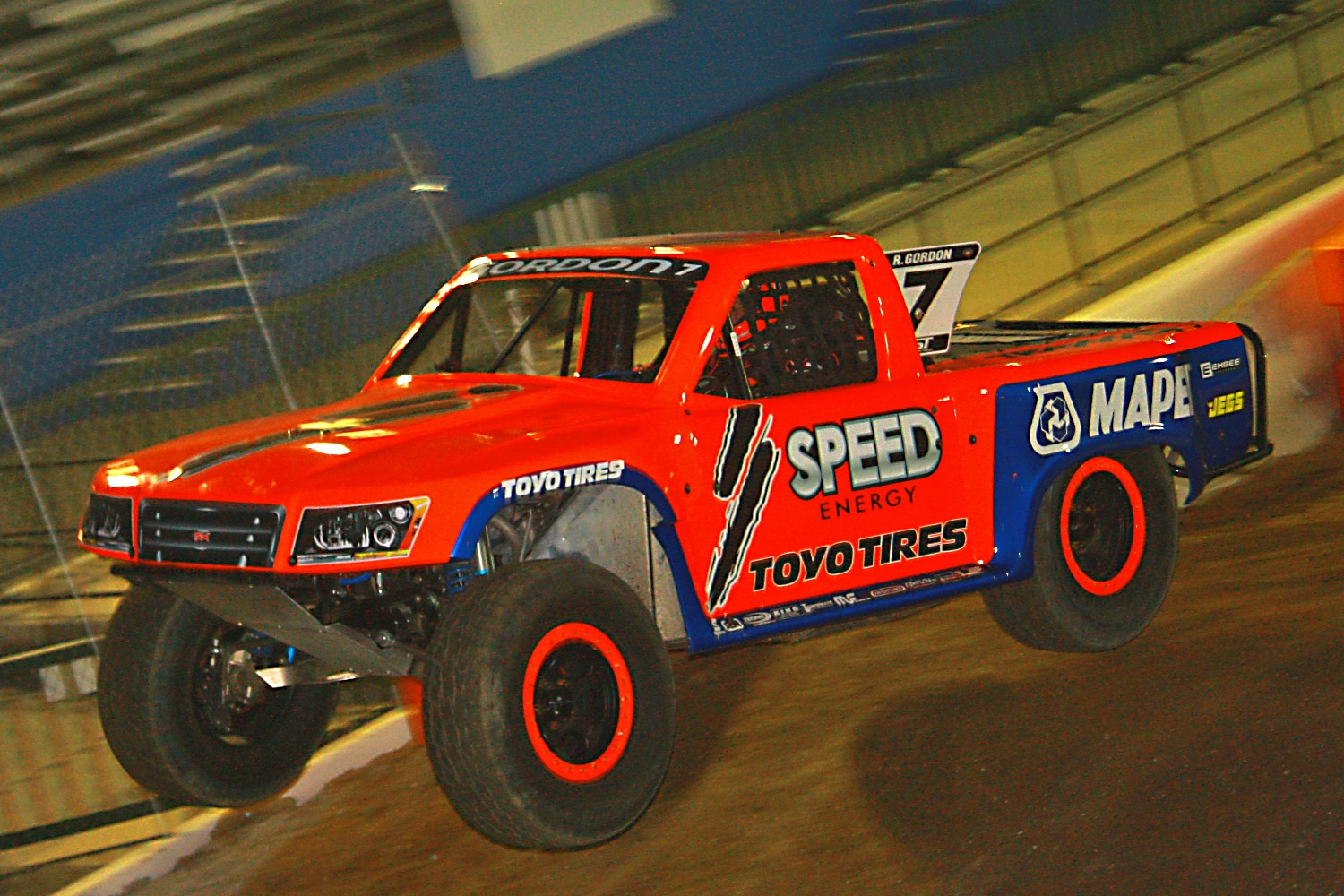 Off Road Race Truck   56  Robby Gordon SST Truck