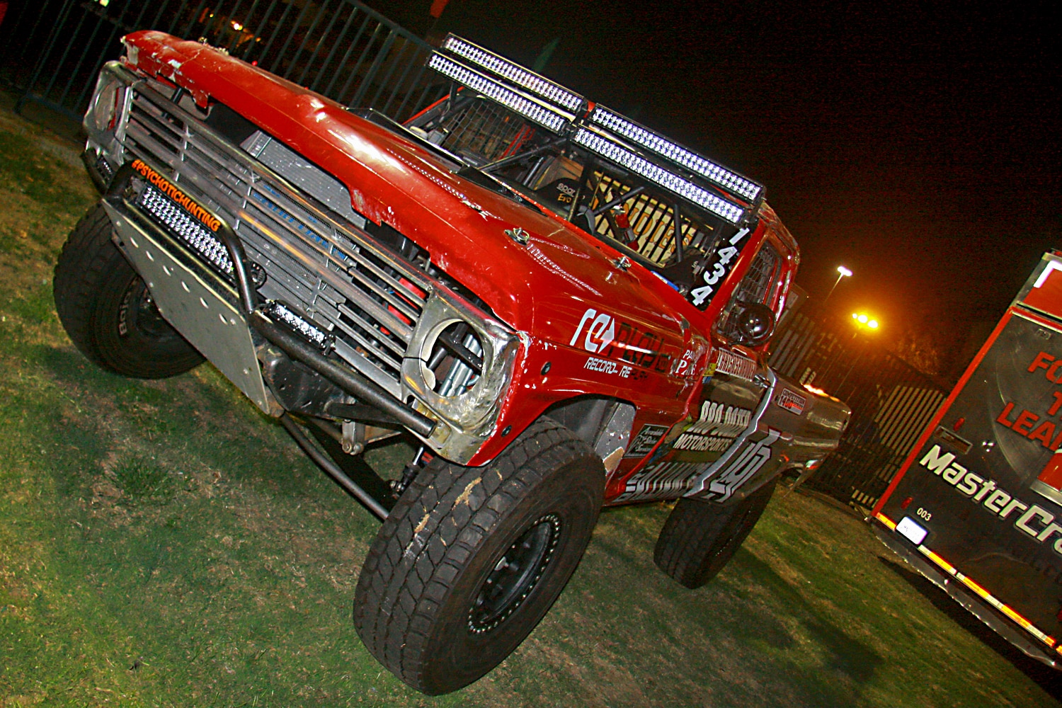 Off Road Race Truck   72  Bro Dozer Motorsports Ford F100