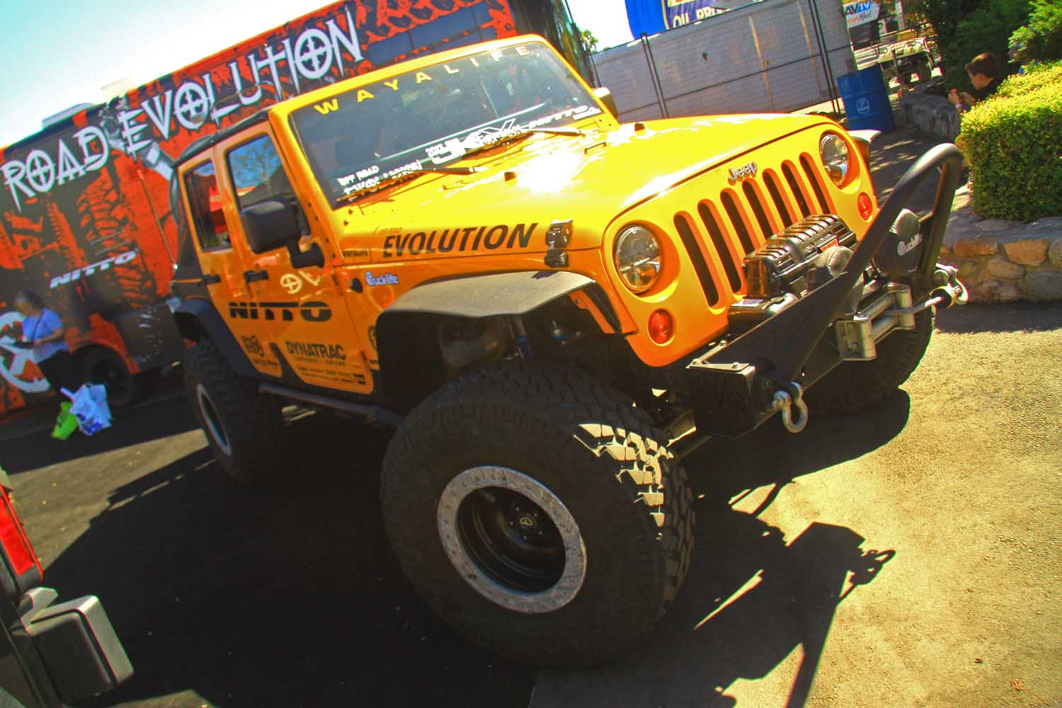 1  Off Road Evolution Wayalife Jeep Wrangler JK