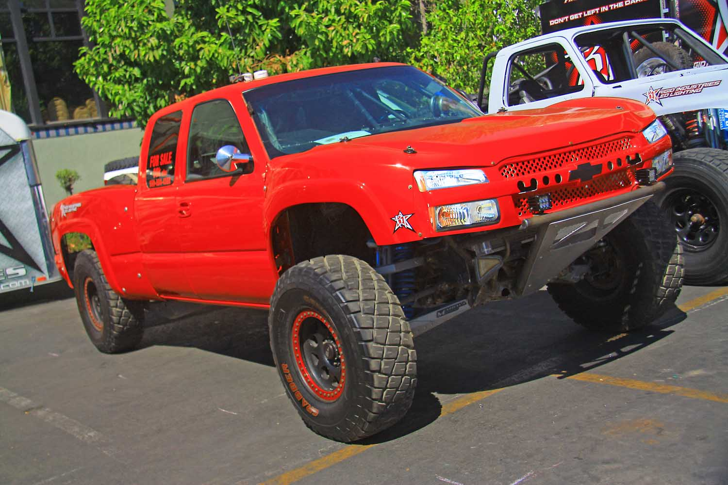 8  Rigid Industries Chevy Silverado Prerunner