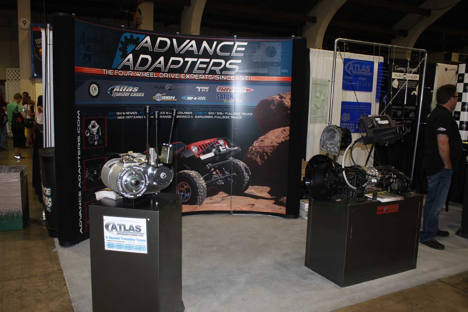 174  Advanced Adapters booth