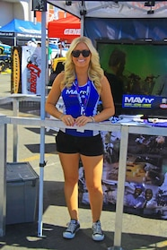 16  MAVTV Hot Blonde model