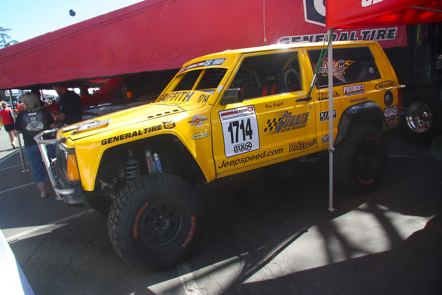 17  Ray Griffith Jeepspeed 1714 XJ Cherokee