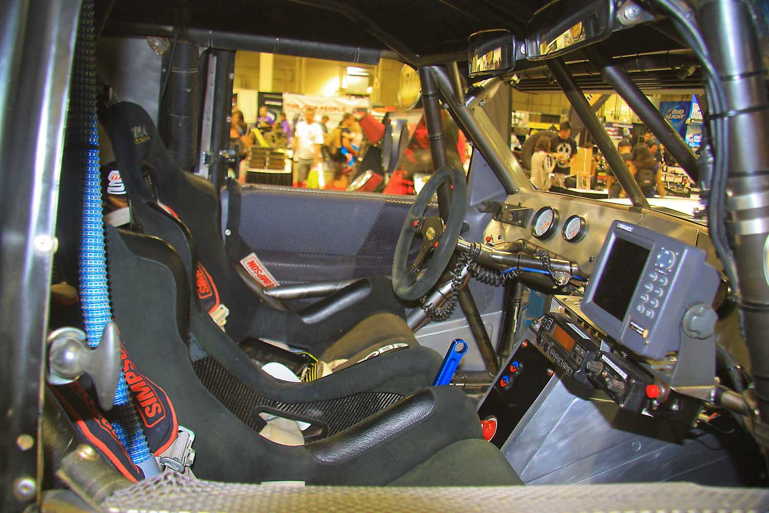 67  Airaid 7200 Ranger Race Truck interior