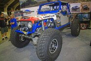 84  Walker Evans Racing Jeep Wrangler TJ Front Three Quarter