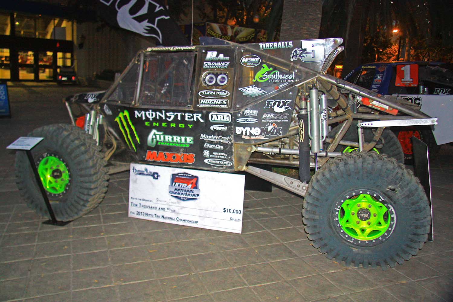 102  Shannon Cambell Monster Energy King Of The Hammers buggy