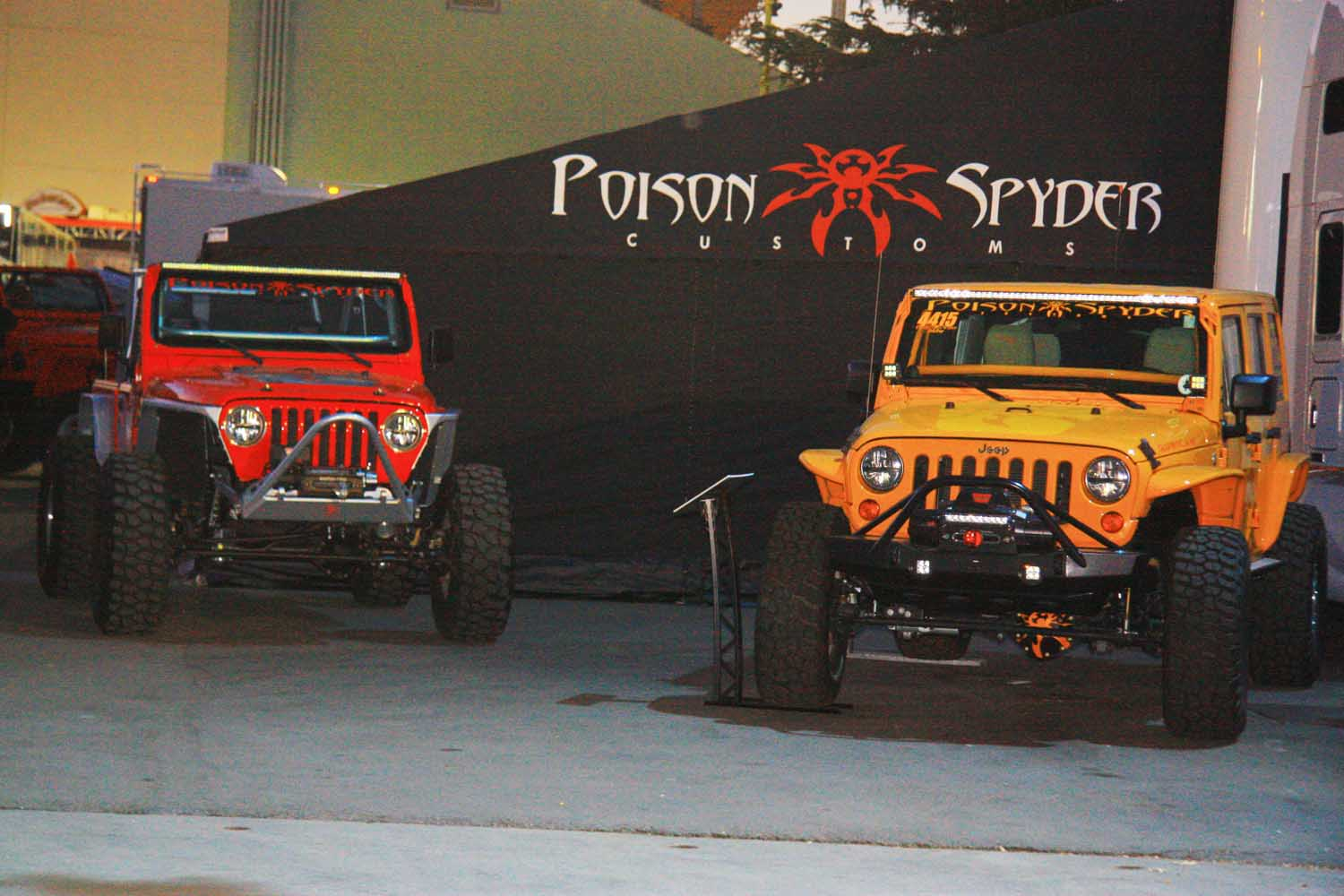 121  Poison Spyder Customs Jeep Wranglers