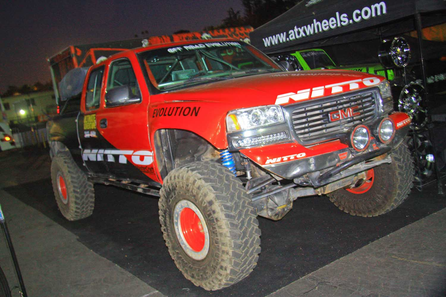 134  Off Road Evolution Nitto Tire Ultimate Z71