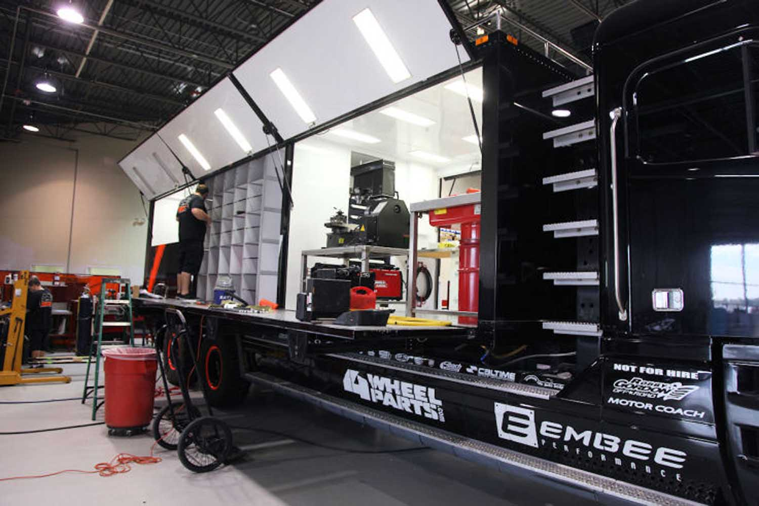 Robby Gordon Racing Freighliner Support Truck side