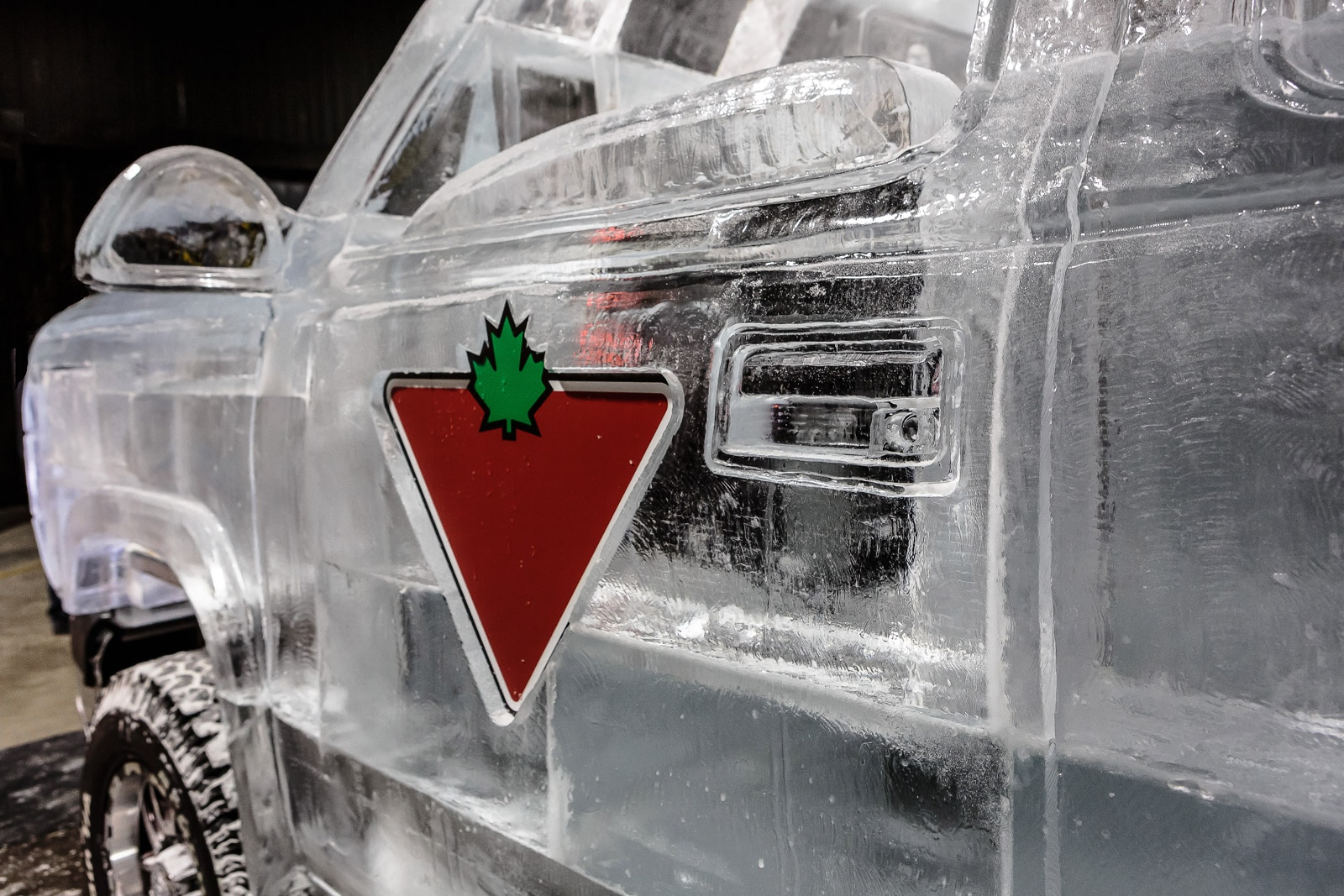 Canadian Tire Ice Truck Chevrolet Test Day 2 Logo
