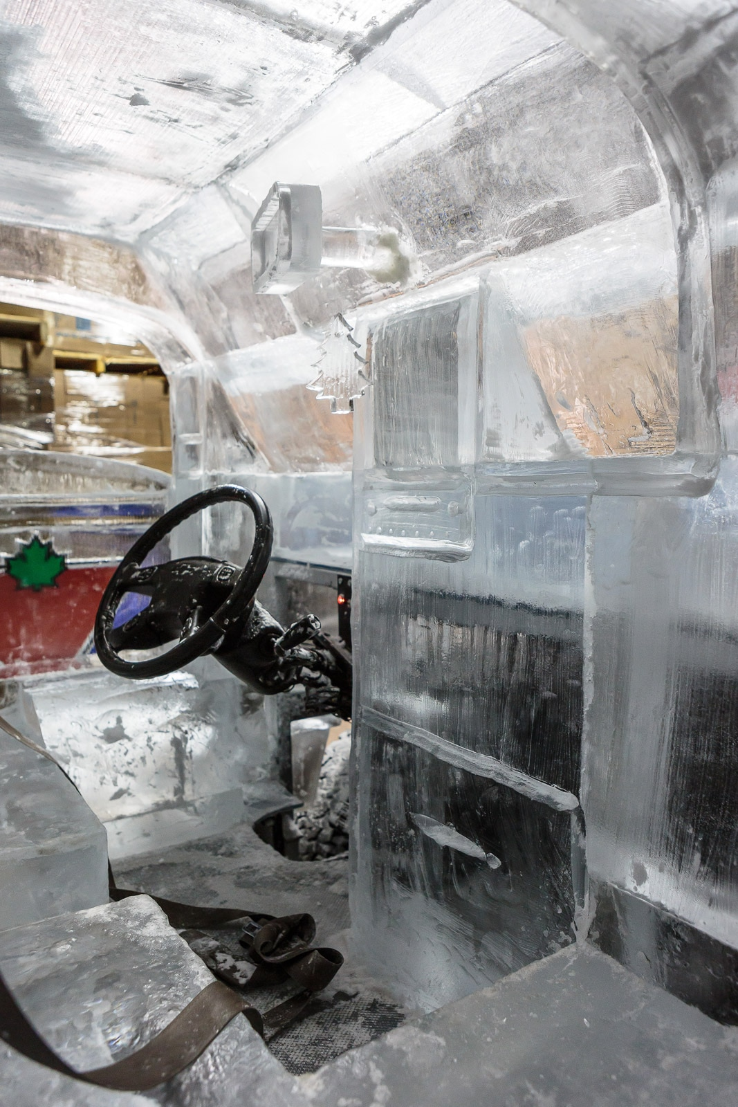 Canadian Tire Ice Truck Chevrolet Test Day 20 Interior