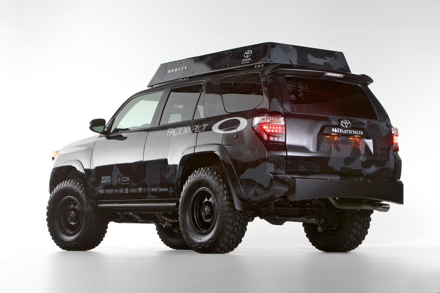 toyota dream build 4runner oakley 23