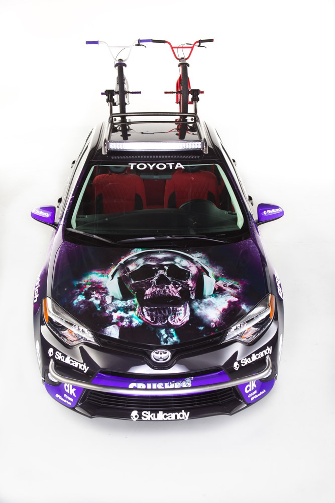 toyota dream build corolla scull candy 57