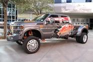 sema 2013 monday fw trucks outside 03