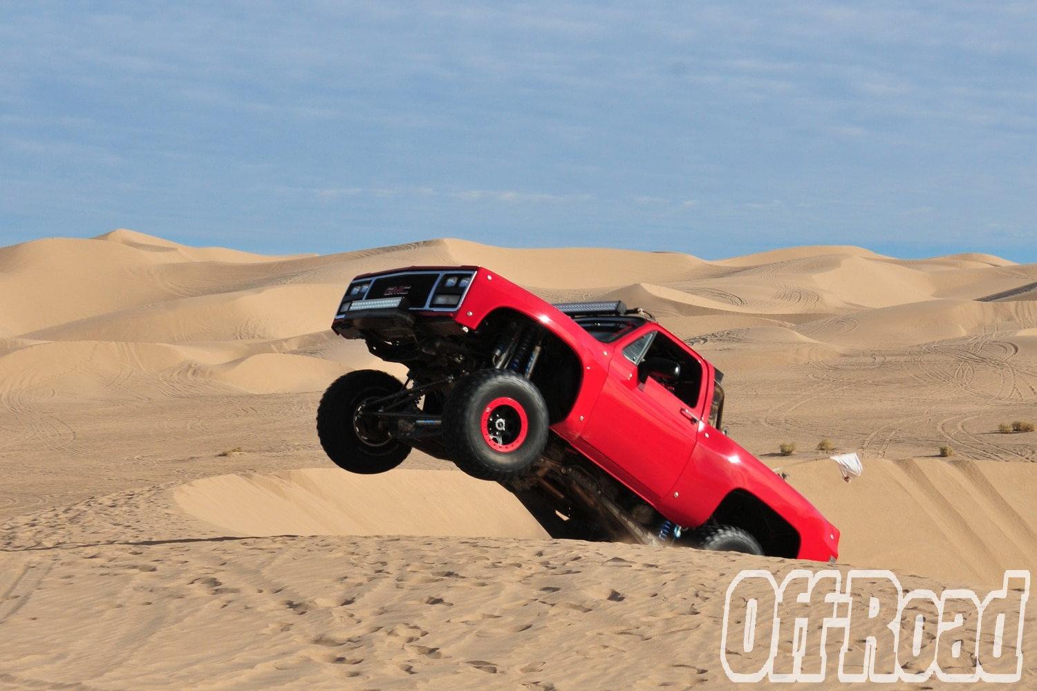 1991 GMC K5 Jimmy Glamis Off Road Magazine Cover Shoot 1