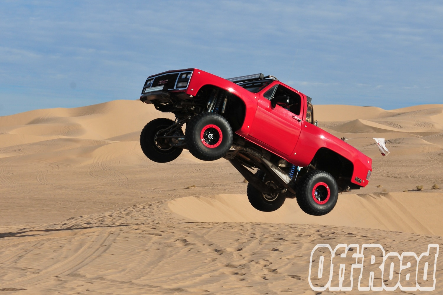 1991 GMC K5 Jimmy Glamis Off Road Magazine Cover Shoot 2