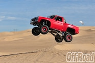 1991 GMC K5 Jimmy Glamis Off Road Magazine Cover Shoot 3