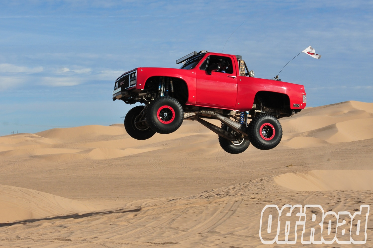 1991 GMC K5 Jimmy Glamis Off Road Magazine Cover Shoot 4