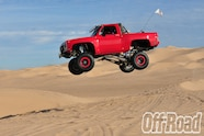 1991 GMC K5 Jimmy Glamis Off Road Magazine Cover Shoot 5