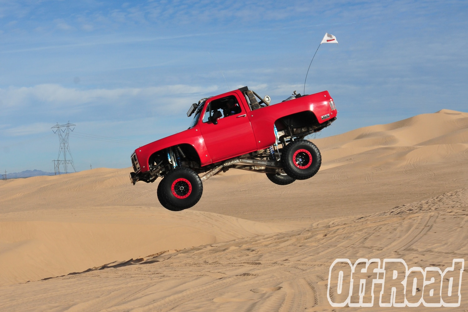 1991 GMC K5 Jimmy Glamis Off Road Magazine Cover Shoot 6