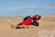 1991 GMC K5 Jimmy Glamis Off Road Magazine Cover Shoot 8