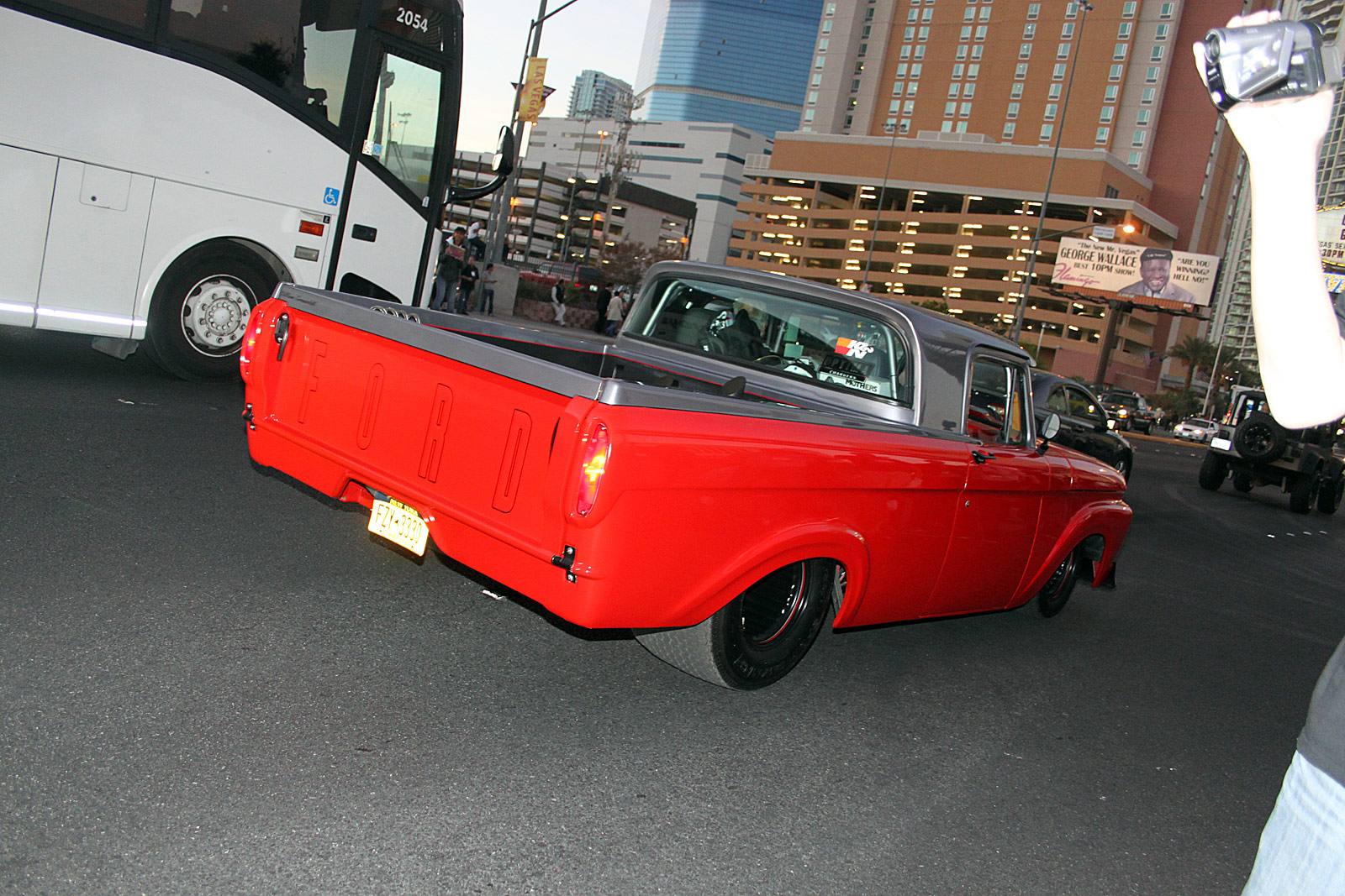2013 sema cruise friday night 76 custom ford f100