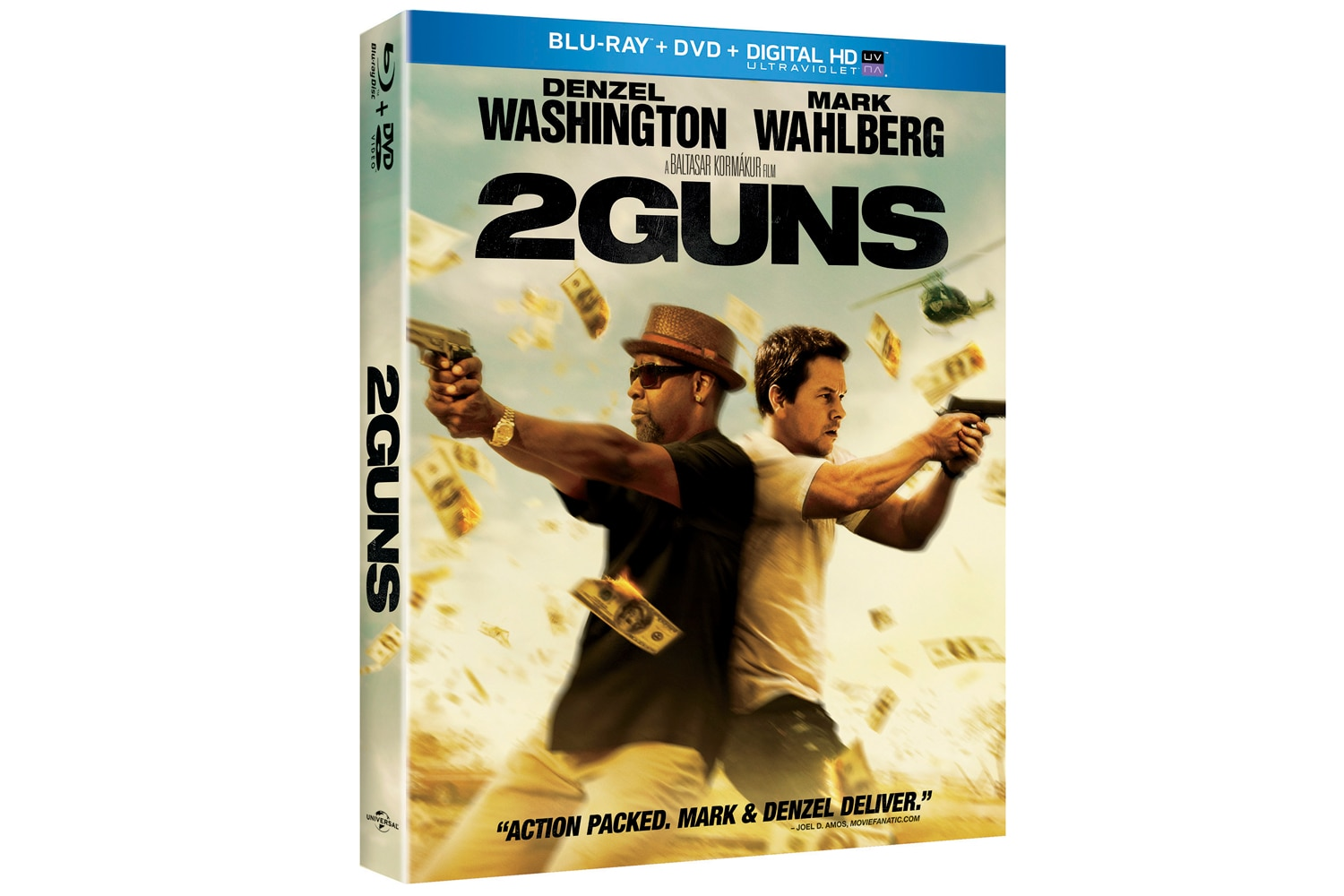 2 Guns DVD Cover