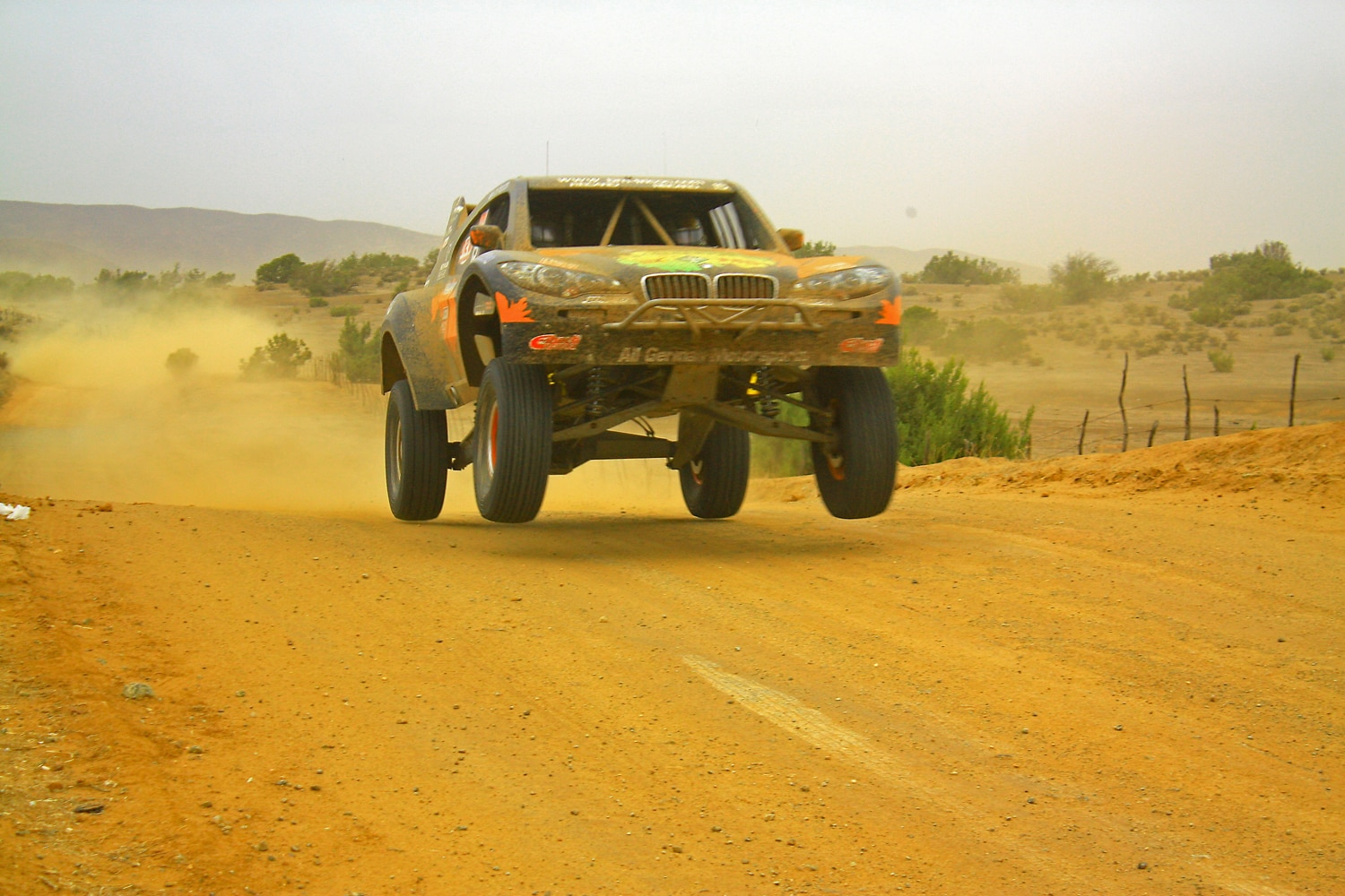 All German Motorsports BMW X6 Trophy Truck Armin Schwarz 2012 Baja 1000
