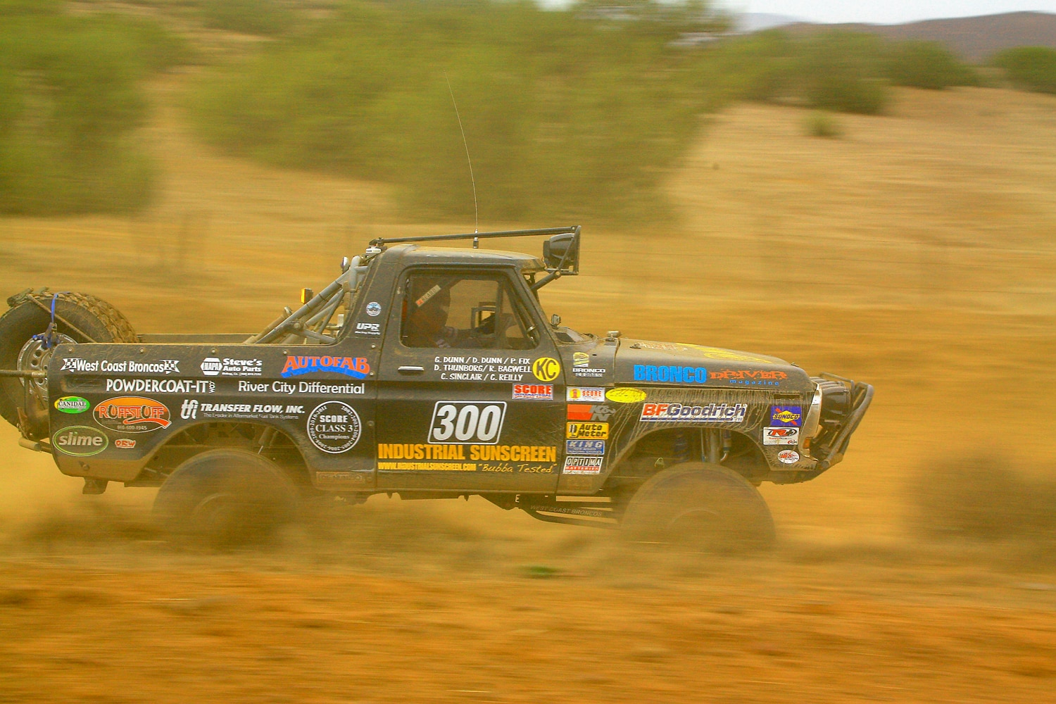 Donald Moss Moss Brothers Racing 1979 Ford Bronco 2012 Baja 1000 Class 3 Racing