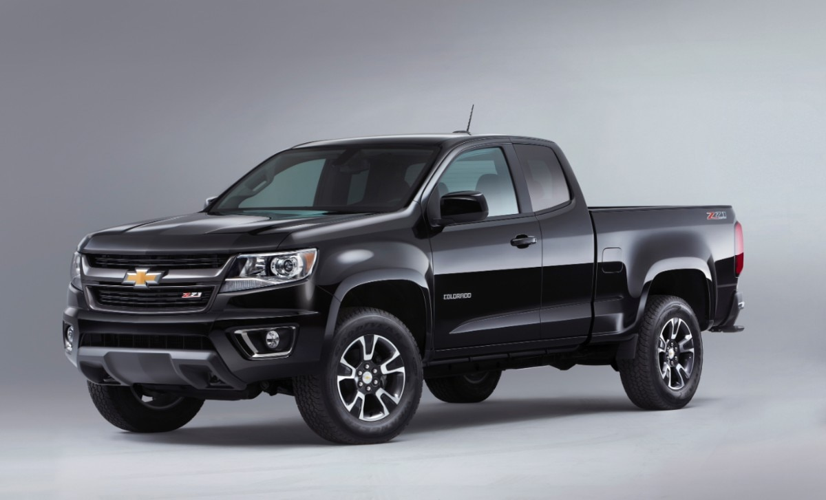 2015 Chevrolet ColoradoZ71 front