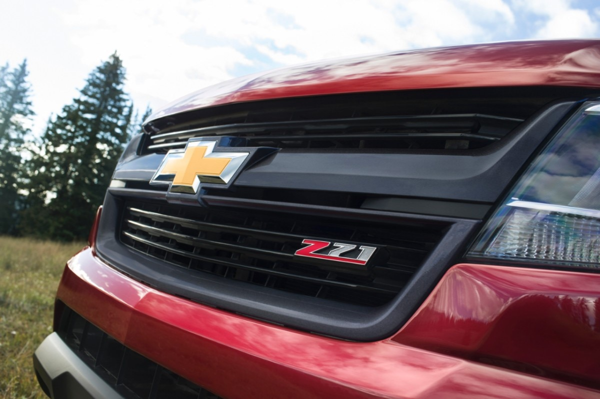 2015 Chevrolet ColoradoZ71 grille
