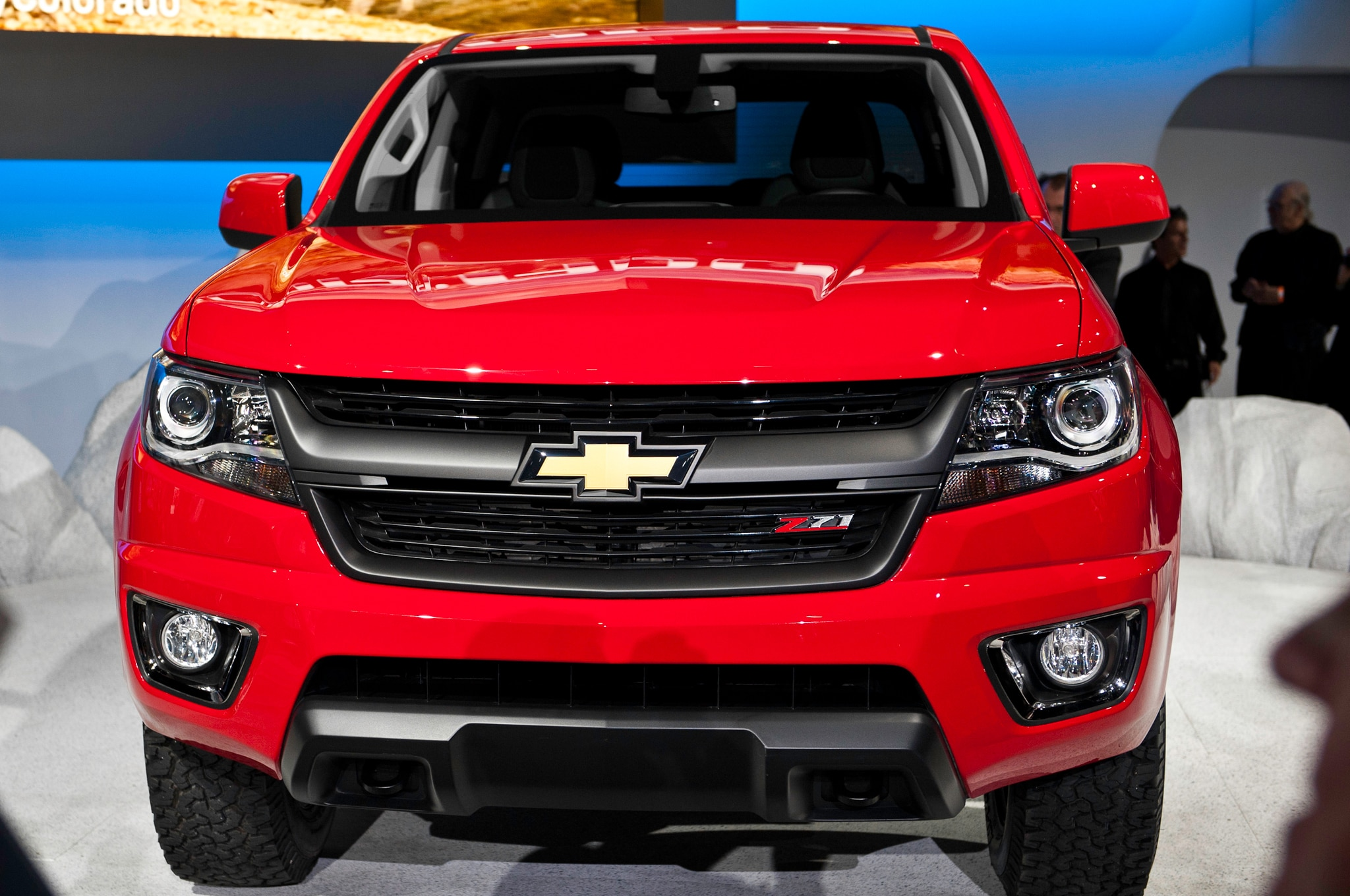 2015 Chevrolet Colorado front grille