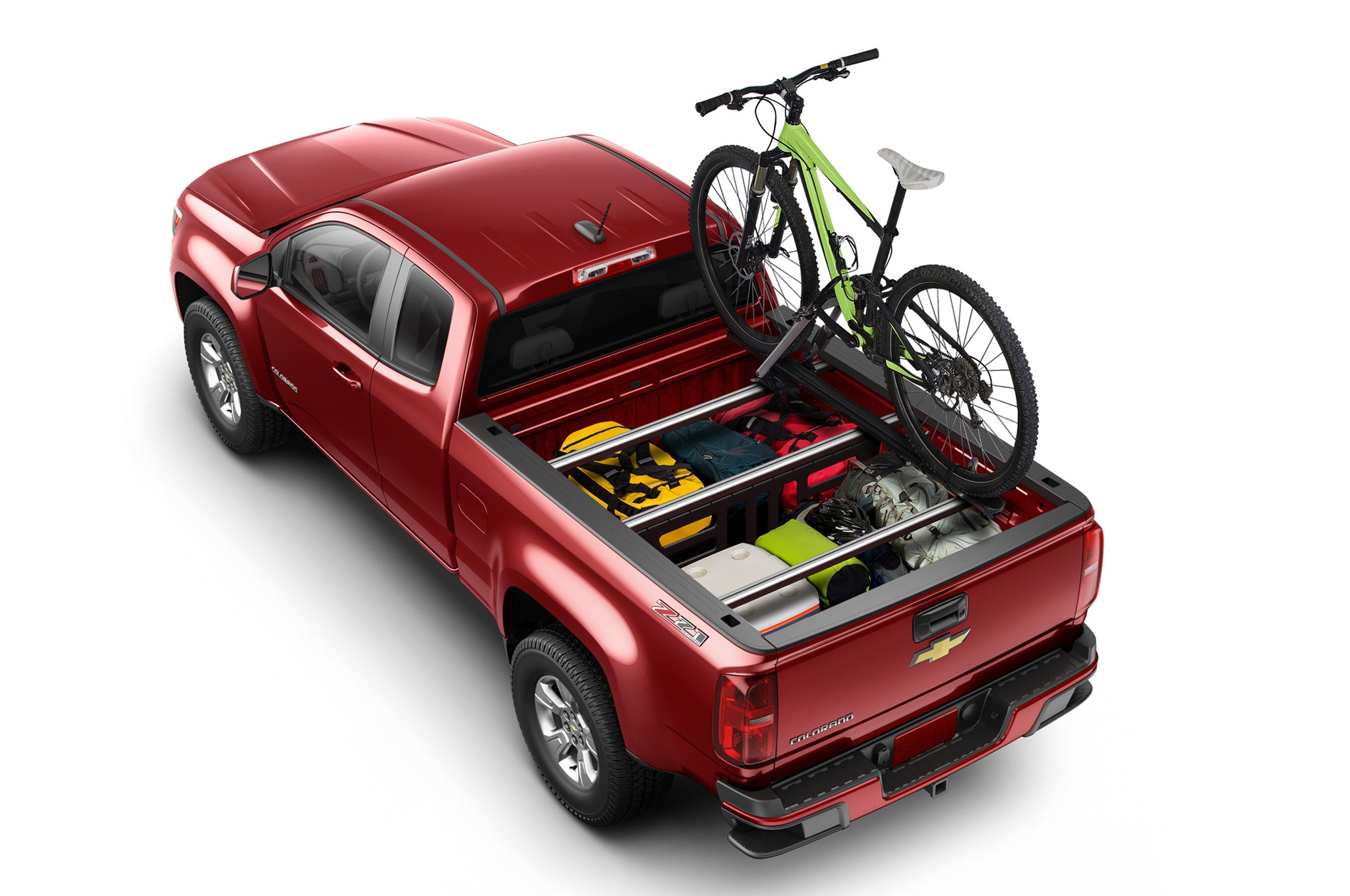 2015 Chevrolet Colorado Z71 rear rack