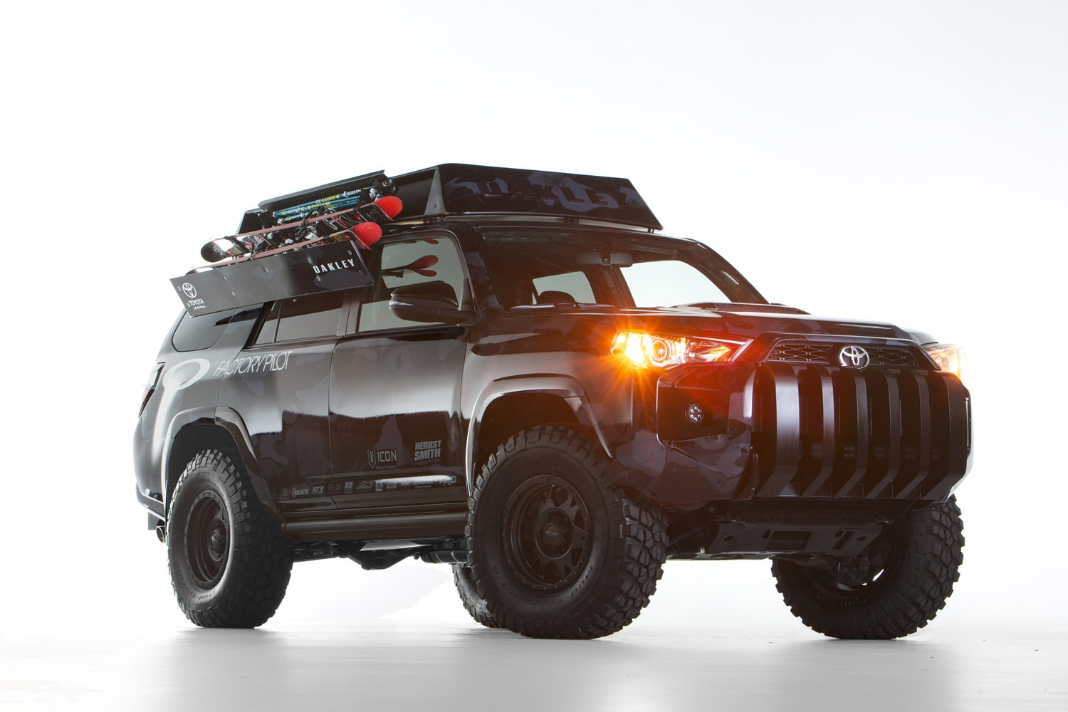 toyota dream build 4runner oakley 12