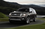 2015 Ford Expedition front