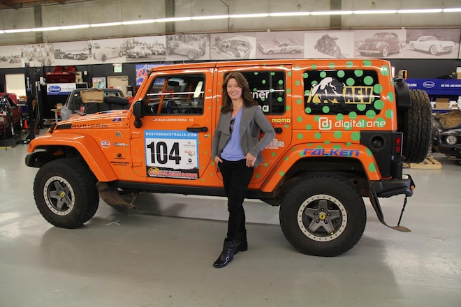 8 Questions with Amy Lerner - International Off-Road Racer