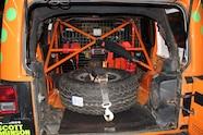 Amy Lerner 2012 Jeep Wrangler JK AEV Race Jeep  10  rear cargo area