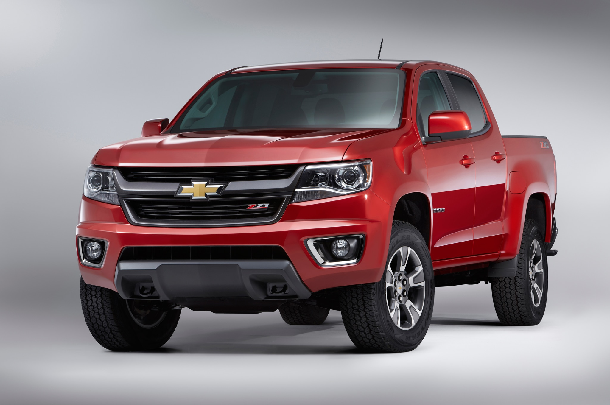 2015 Chevrolet Colorado front end